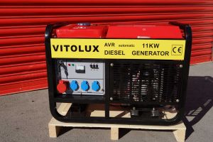 11 KW  Diesel Three Phase Generator VITOLUX with  Automatic Start-Stop panel and management
