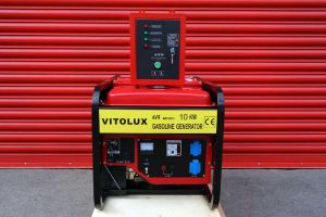 10 KW Single Phase Gasoline Generator with Auto Start-Stop panel and management