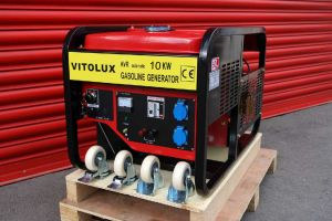 10 KW NEW Monophase gasoline generators VITOLUX