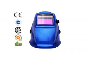 Automatic Welding Masks - color Blue Metallic