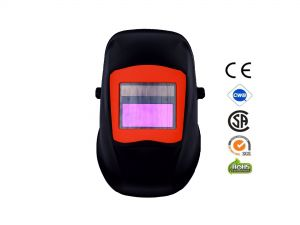 Automatic Welding Masks with Orange application