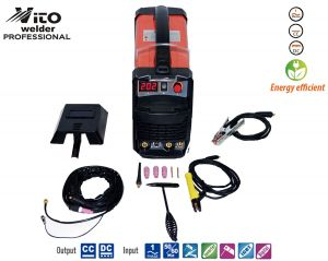 Professional Inverter welding  VITO-TIG / MMA 200 with Argon function