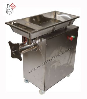 Professional Three phase Meat mincer BRT 32 - 2200W -  STAINLESS  STEEL