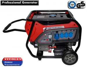 7 KW Single Phase Gasoline Generator with Automatic Start-Stop panel and management
