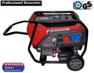 7 KW Three Phase Gasoline Generator with Automatic Start-Stop panel and management