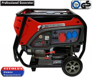 7 KW Three-phase and Single Phase/combined/ Gasoline Generators with el. start